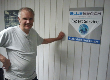 Bluereach certificate